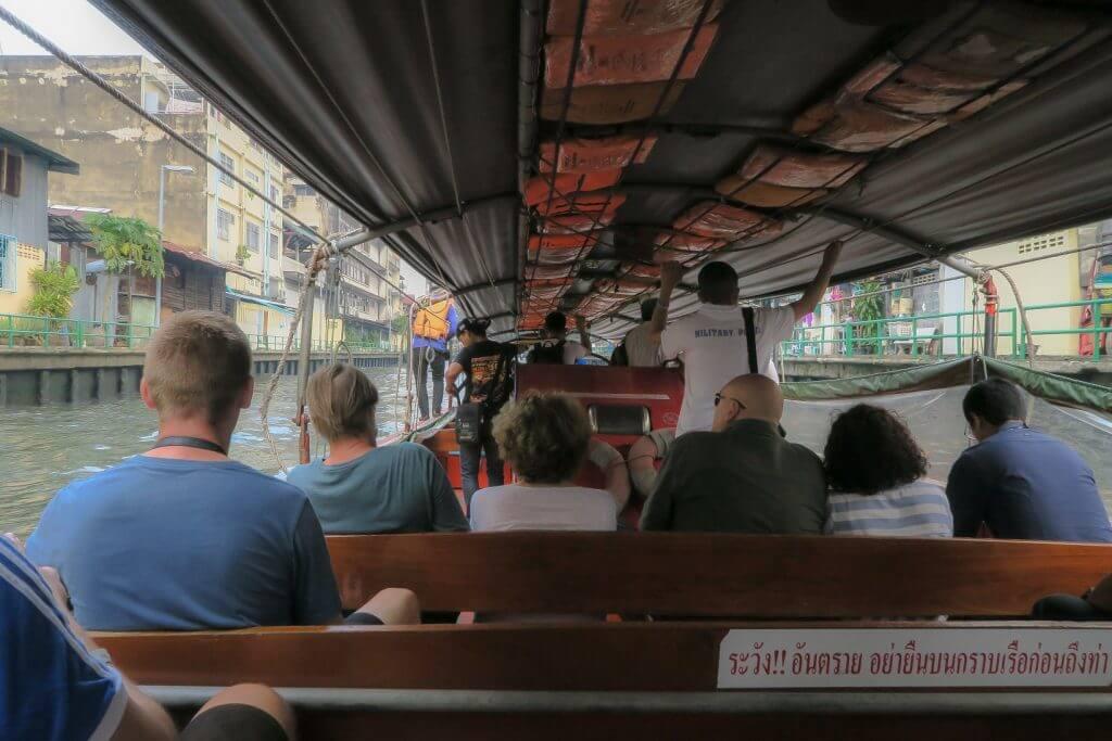 Bangkok łódź transport w Bangkoku komunikacja miejska w Bangkoku