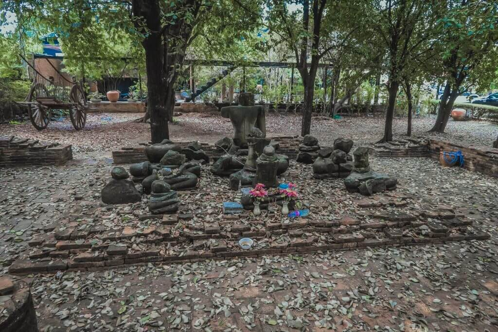 tajlandia ayutthaya świątynie azja